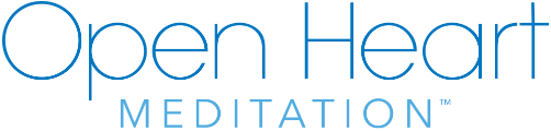 Open Heart Meditation™ Retina Logo